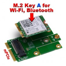 M.2 A/E-Key wifi to Mini PCIe Card For intel 7260