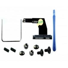 2010-2012 Mac Mini A1347 Upgrade Dual SATA SSD Cable with tool