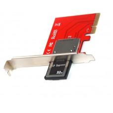 PCI-e 4X CFexpress B Card Reader