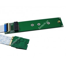 M.2 nVME SSD to M2 A-Key wifi port for Samsung 970 980