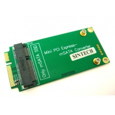 mSATA as 3x7cm mini PCI-e SATA SSD Card