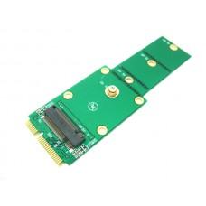 M.2 KEY-B SATA 3 SSD to mSATA Card