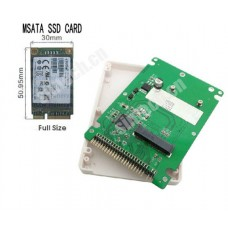mSATA SSD to 44Pin IDE Card with case