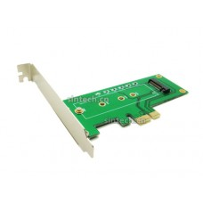 M.2 key M nVME SSD to PCIe X1 Adapter Card With bracket