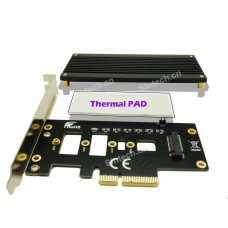 M.2 key M nVME SSD to PCIe 3.0 X4 Adapter Card
