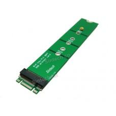 M.2(NGFF) SATA KEY B+M SSD Extender Card