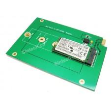 M.2 SATA3 SSD SFF-8784 card replace WD Blue UltraSlim HDD WD5000MPCK