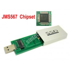 M.2 SATA 2242 SSD to USB 3.0 Adapter Card