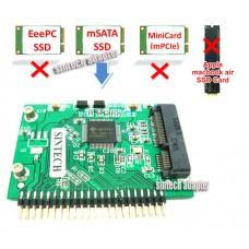 mSATA SSD to 1.8-Inch IDE Card