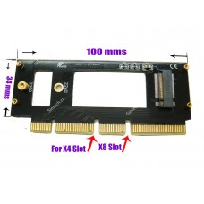 M.2 (NGFF) SSD to PCIe 3.0 X16 card for Samsung 960 970 EVO