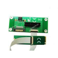 PCI-e 4x SSD As M.2 M-Key SSD card with FPC Cable