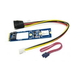 2.5 SATA SSD to M.2 NGFF adapter card with power for MSI GT72