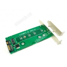 M.2 SSD to SATA Adapter card With Bracket