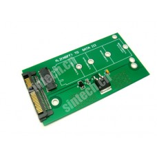 M.2 SSD to SATA Adapter card
