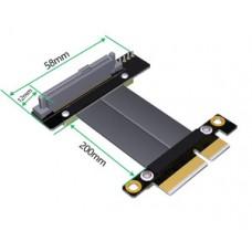 U.2 SFF-8639 NVMe SSD to PCI-e 4X cable 20cm