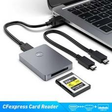 USB 3.0/3.1 CFexpress B Reader For SanDisk Sony TOPSSD Card