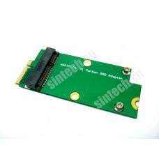 mSATA to 26pin card upgrade SD5SG2 SSD from Lenovo X1 Carbon Ultrabook