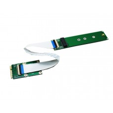 M.2 nVME SSD to Mini PCIe Wifi port Card for Samsung 970 980