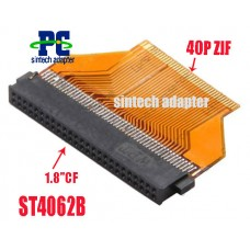 40pin ZIF to 50pin 1.8 inch CF Toshiba HDD Card