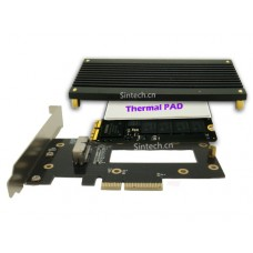 2013-2015 MacBook Air+PRO SSD to PCI-e 4X adapter Card