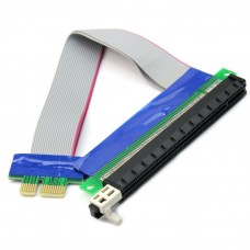 Flexible PCI Express X1 to X16 Riser Cable