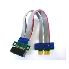 Flexible PCI Express x1 Riser Cable 150mm