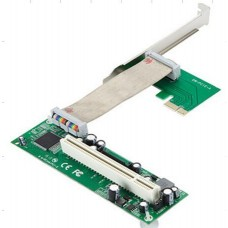 PCI-E 1X TO PCI Riser Card With Felex cable
