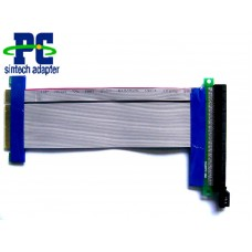 Flexible PCI Express X8 to X16 Riser Cable