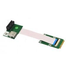 PCI-E X1/UB to Mini PCI-E FPC cable