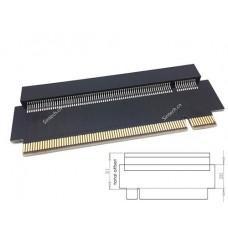High Quality PCI-E express 16X riser card 31mm
