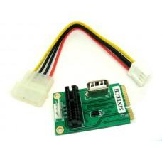 PCI-E express X1 to Mini PCI-E card