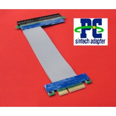 Flexible PCI Express X4 to X16 Riser Cable