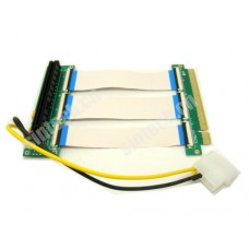 PCI-E express X16 riser card with 10/20cm FPC cable