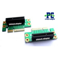 PCI-e express X4 riser card Angled